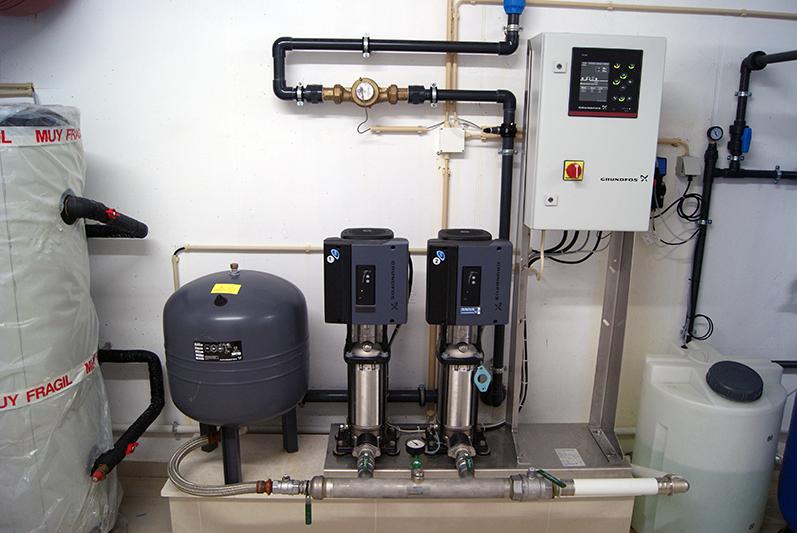 Canalização - Grupo hidropressor doméstico de pressão constante e velocidade variável