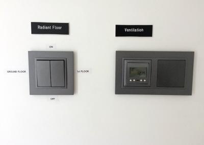 Controladores  de pavimento radiante e de sistema de extração centralizado