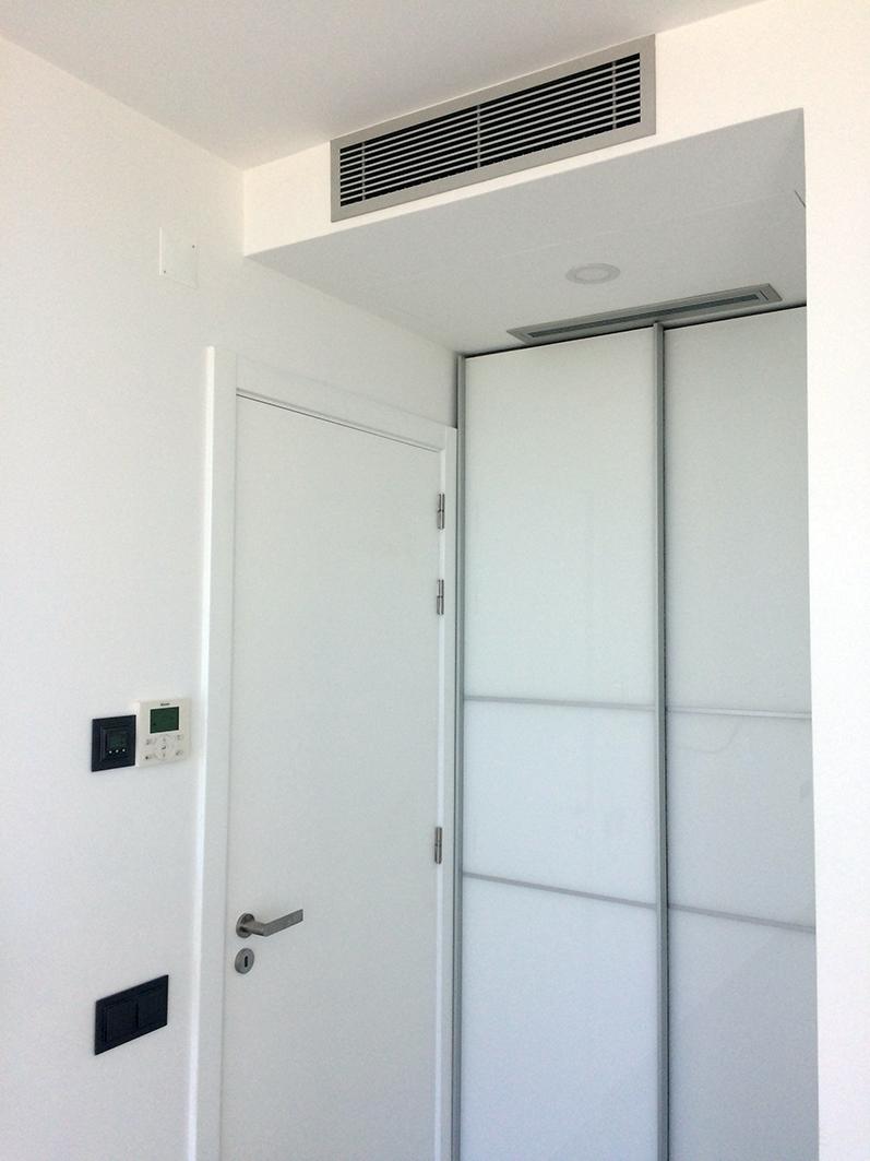 Sistema de refrigeração por condutas