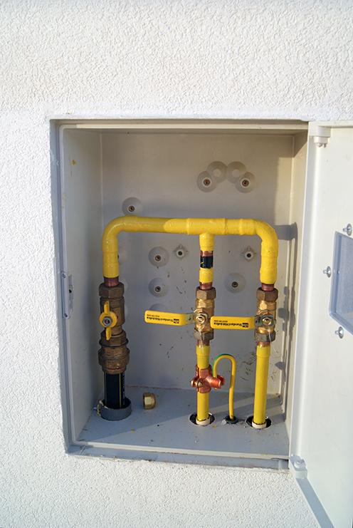 Instalação canalização de Gás