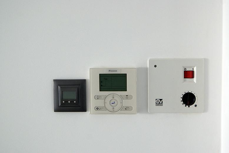 Controladores de climatização e ventilação