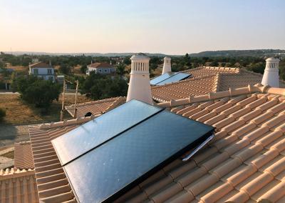 Coletor Solar Drain Back